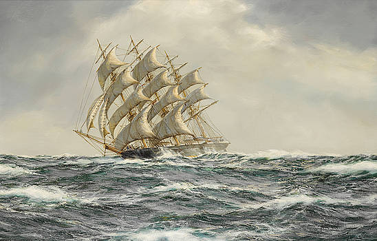 The Great American Clipper-Donald MacKay by Henry Scott