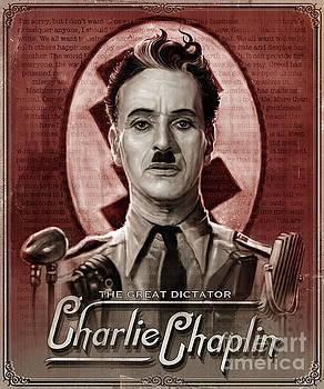 The Great Dictator - Charlie Chaplin by Andre Koekemoer