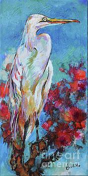 The Great Egret  by Jyotika Shroff