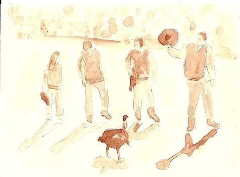 The Great Gobbler Gallop by Matt Gaudian