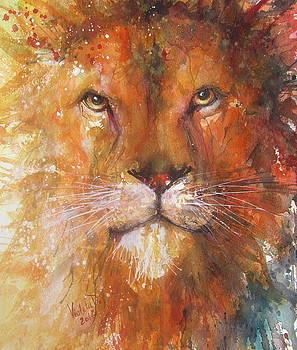 The Great Lion by Violeta Damjanovic-Behrendt