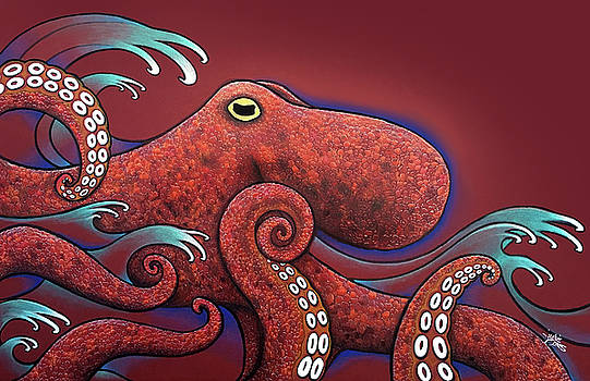 The Great Octopus by Julie Oakes