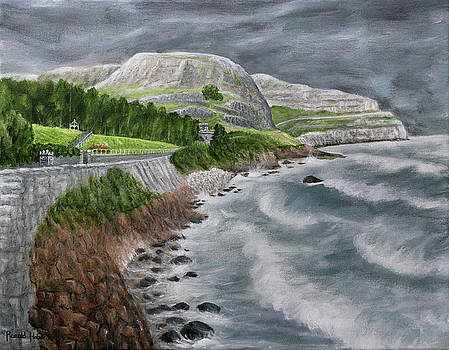 The Great Orme - Llandudno Wales by Ronald Haber