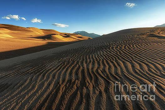 The Great Sand Dunes National Park Sunrise by Tibor Vari