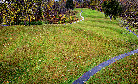 The Great Serpent Mound  by Tim Fitzwater