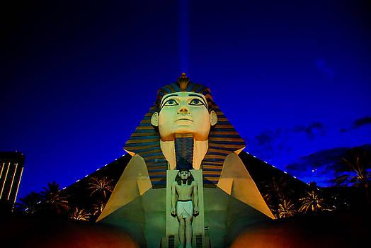 The Great Sphynx of Vegas by Zee Helmick
