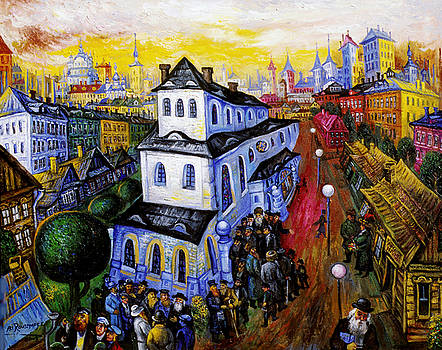 Ari Roussimoff - The Great Synagogue