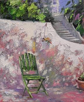 The Green Chair by Irina Sergeyeva