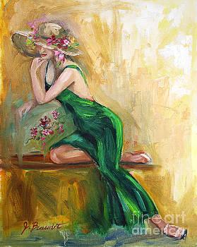The Green Charmeuse  by Jennifer Beaudet