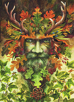 The Green Man by Peter Williams