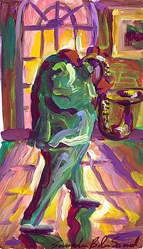 The Green Man  by Saundra Bolen Samuel