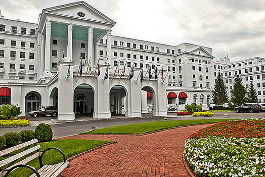 The Greenbrier Hotel by Jeanne Sheridan