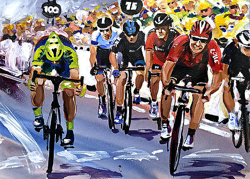 The Greipel Grimace by Shirley Peters