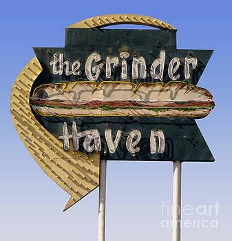 Gregory Dyer - the Grinder Vintage Sign