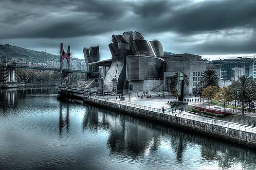 The Guggenheim Museum Bilbao Surreal by Andy Myatt