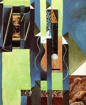 The Guitar 1913 by Gris Juan