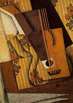 The Guitar 1914 by Gris Juan