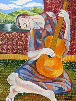 The Guitarist by John Keaton