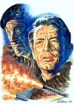 The Guns Of Navarone 1961 - Gregory Peck - David Niven by Spiros Soutsos
