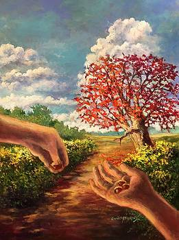 The Hand That Plants The Acorn Shelters Armies From The Sun by Randy Burns