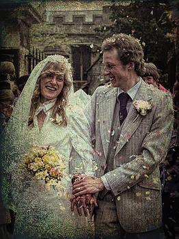 The happy couple by Ron Harpham