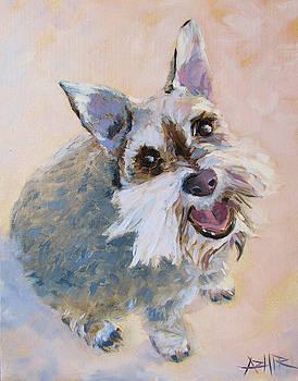 The Happy Dog by Azhir Fine Art