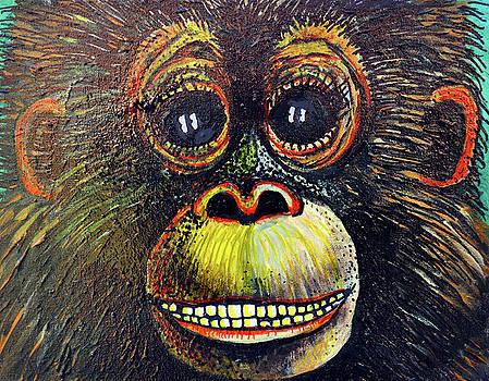 The Happy Monkey by Bob Crawford