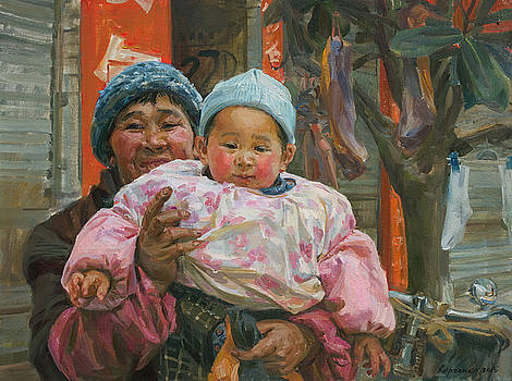 The happy by Victoria Kharchenko