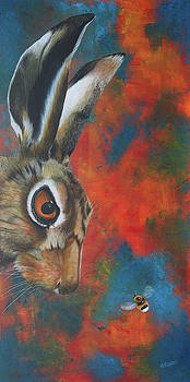 The Harassed Hare by Ashley  Brayson