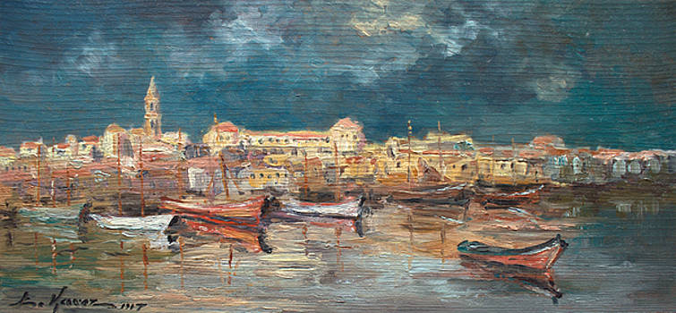 The harbor in Marseille by Luke Karcz