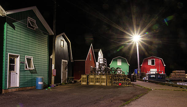 The Harbour at French River, PEI. by Rob Huntley