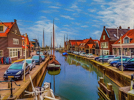 The Harbour at Monnickendam by Paul Wear