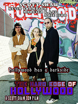 The Hard Edge of Hollywood by The Scott Shaw Poster Gallery