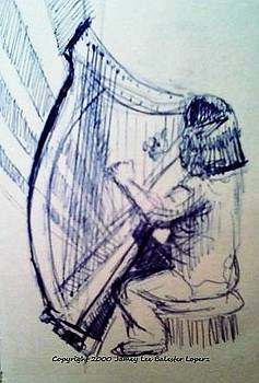 The Harpist by Jamey Balester