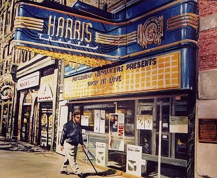 The Harris Theater by James Guentner