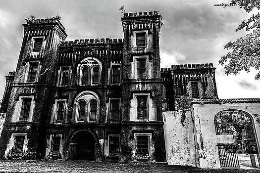 The Haunted Old City Jail in Charleston South Carolina  by Dale Powell