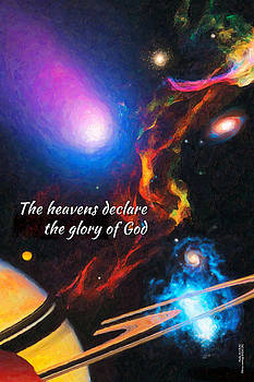 The heavens declare the glory of God by Chuck Mountain