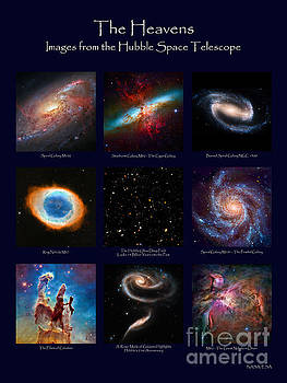 The Heavens - Images from the Hubble Space Telescope by David Perry Lawrence