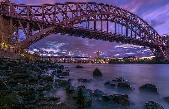 The Hell Gate Bridge by John Randazzo