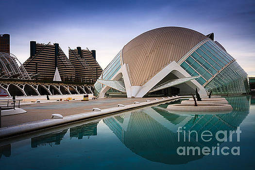 The Hemisferic in Valencia spain  by Peter Noyce