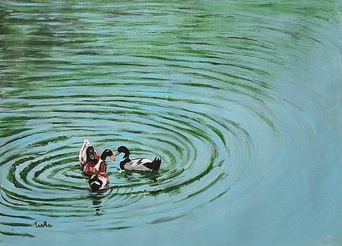 Usha Shantharam - The Herd series - Duck Meet
