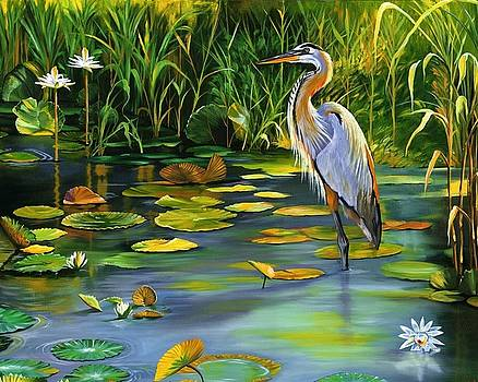 The Heron by Beth Smith