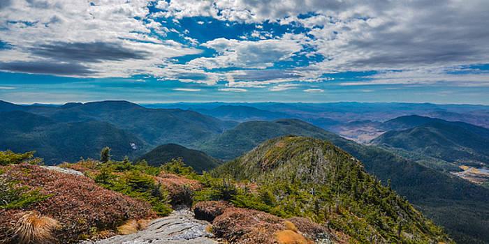 The high peaks of the Adirondacks by Matthew MacPherson