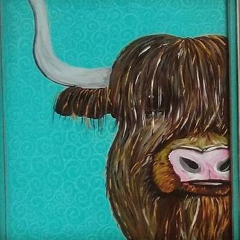 The Highland Cow by Cindy Large