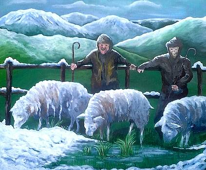 The Hill Farmers by Alan Kennedy