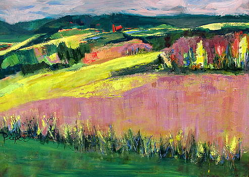 The Hills Are Alive by Betty Pieper