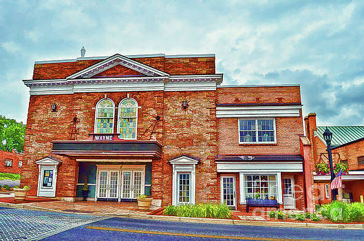 The Historic Wayne Theatre - Waynesboro Virginia - Art of the Small Town by Kerri Farley