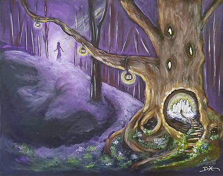 The Hollow Tree by Diana Haronis