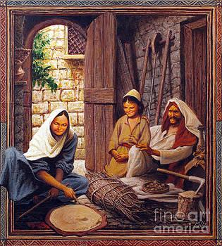 Louis Glanzman - The Holy Family - LGHOL
