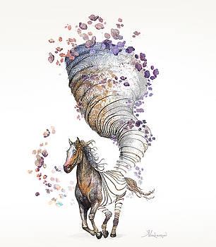 The Horse by Kristina Vardazaryan